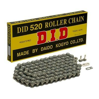 DID 520 D Standard Motorcycle Roller Drive Chain with Split Link