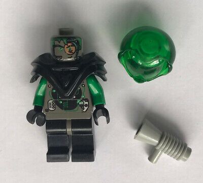 Lego Minifig ~ Gigabot ~ Printed Legs Torso Insectoid Robot UFO Space Black #sbg