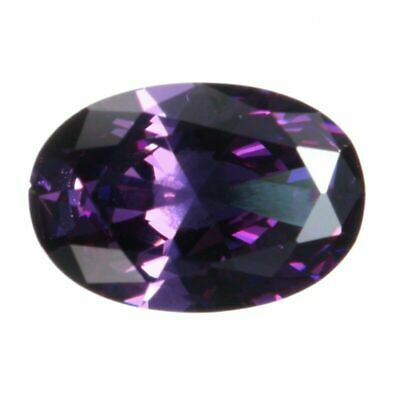 14x10MM 10.06CT AAAAA Natural Purple Oval Amethyst Faceted Cut VVS Loose Gems