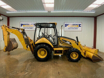 Cat 420E Loader Backhoe With Open Rops With 4X4!