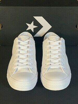 MENS CONVERSE LEATHER All Star Player White High Top Tennis
