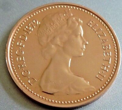 Mega Rare 1972 1/2p Proof Coin 1/2p Not released. Low Mintage.