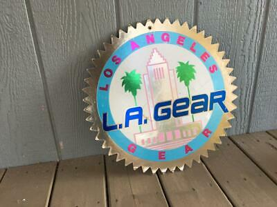 L.A.Gear........Vintage Advertising Sign.......Too Cool to Not own ..Come on Man