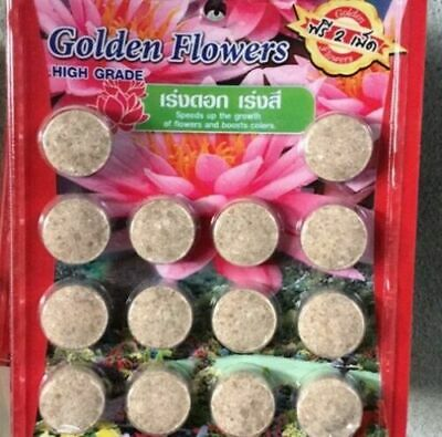 1 pack FERTILIZER TABLET FOR LOTUS WATER LILY FISH SAVE BEST GOOD D317