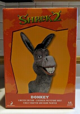 Limited Edition Shrek Donkey Bust Statue New Dreamworks