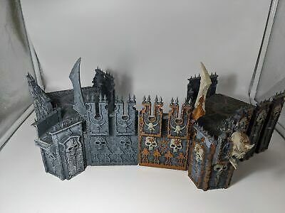 Warhammer AOS Chaos Dreadhold Crucible Scenery Wall Archway F RARE OOP K4