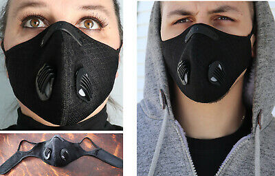Cycling Protective Air Purifying Mask Face Mask Face Cover Haze Fog Mouth Mask