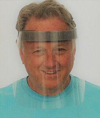 Face Shield Clear Protector Made in USA 100ct