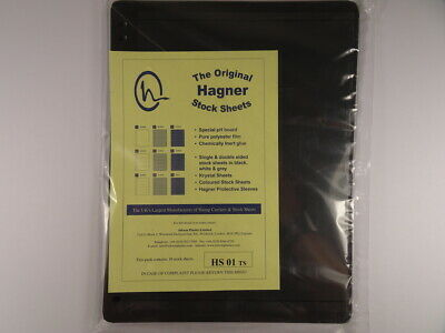 Hagner Stock Sheets Single Sided 1 Strip Packet of 10 Pages