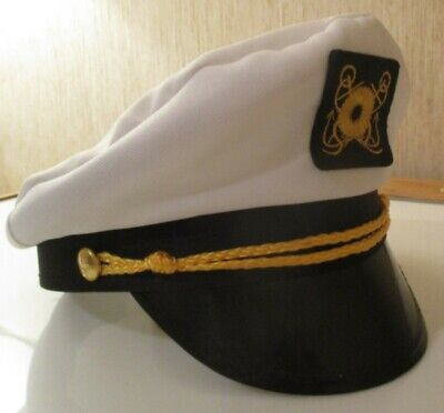 Large or XL Medium Small Rothco 5521 Men/'s White Sailor Hat