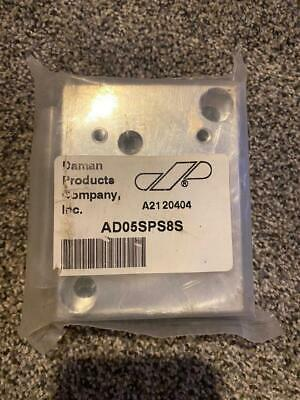 *New* Daman Ad05Sps8S Aluminum Side Ported Subplate