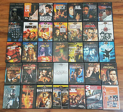 /821 43 Classic 70s 80s 90s Action Film MGM DVD Lot (Some w/ Booklets) Rare OOP