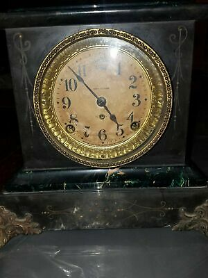 Antique 19Th Century Seth Thomas Clock  Works Nicely!