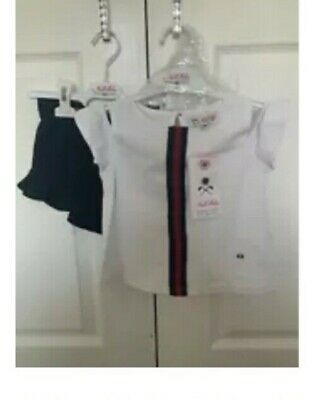 Miranda cold shoulder top & shorts set was £40 now £20 age 3&6 years