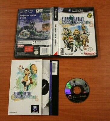 JEU Nintendo  Game Cube Final Fantasy Crystal Chronicles   complets