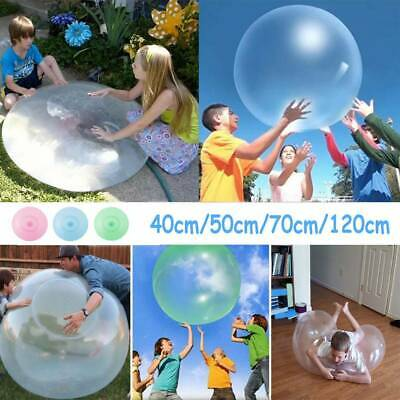 Wubble Bubble Ball Balloon Transparent Bounce Inflatable Funny Water Toy Rubber