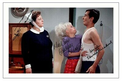 BARBARA WINDSOR CARRY ON DOCTOR NURSE PP MOUNTED 8X10 SIGNED AUTOGRAPH PHOTO