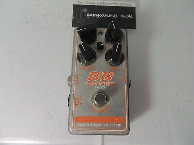 Xotic BB Preamp MB Overdrive/Boost Effects Pedal Mid Boost Custom Shop