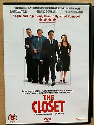 The Closet DVD 2001 Français Gay Lieu Comédie Film Alias le Affichette