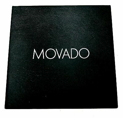 New MOVADO Watch Presentation Outer Box