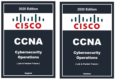 CISCO CCNA LAB Cybersecurity Operations ITALIANO Cyber ops Academy Security
