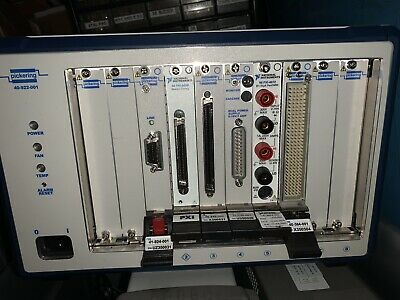 Pickering PXI System 40-410-002 Digital I/O Module National Instruments LabVIEW
