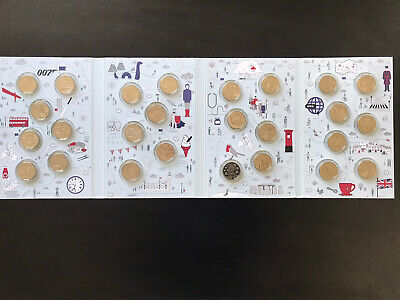 Full Set A-Z 10p Coins 2018 Uncirculated The Great British Coin Hunt Full Album