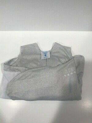 HALO Safe Dreams Wearable Blanket SleepSack Size Small 3-6 month Gray