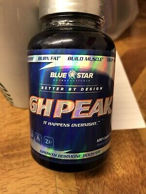 RRP $89.99 *FROM USA* Blue Star GH Peak Growth Hormone Booster Exp 7//19