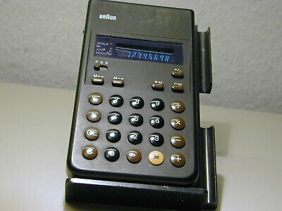 BRAUN  4 955 700 LED CALCULATOR IN GERMANY by BRAUN of Germany