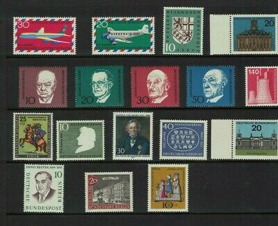 germany stamps ddr - east germany various - mint NH useful noted