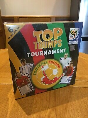 Sealed Top Trumps Tournament Football Edition South Africa 2010 Fifa World Cup