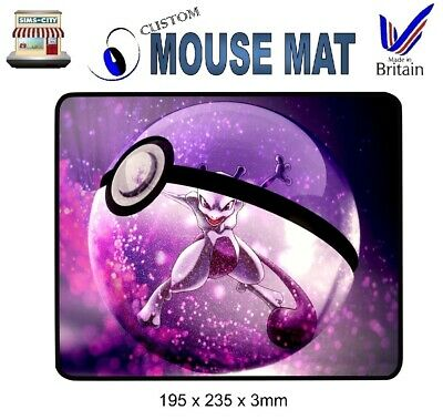Mewtwo High Quality Pokemon Mew Two Style Mouse Mat Mat023