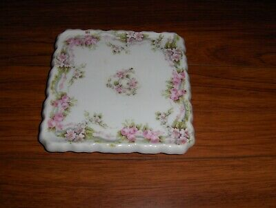 Antique Mignon Z.S. & Co. Bavaria Square Hot Plate / Teapot Trivet 1880-1918