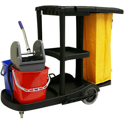 Sale Hartleys Janitorial/Cleaning Trolley Hotel/School Cleaner/Janitor #377