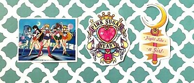 33pcs Sailor Moon Decal Sticker Scrapbook Chibiusa Tsukino Usagi Mars New Venus