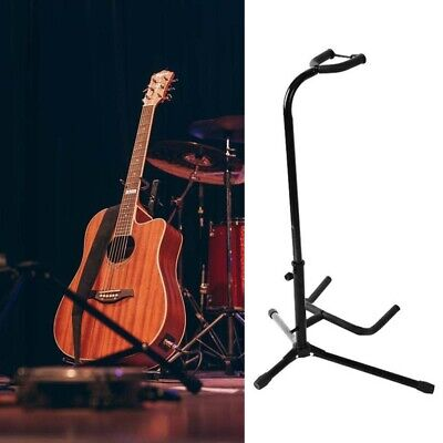 Telescopic Guitar Stand Acoustic/Electric/Bass Adjustable Tripod Stand New