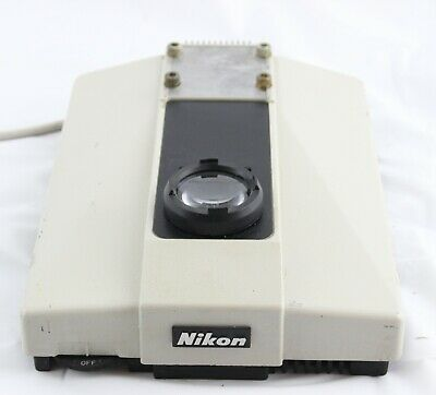 Nikon Base Labophot Power Supply Lamp House Microscope