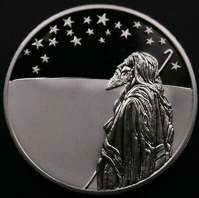 Israel 1999 2 New Sheqalim - Abraham and the Stars - Proof DCAM