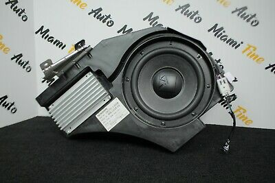 2015 Nissan Juke Nismo Rs Subwoofer And Amplifier Assembly Oem