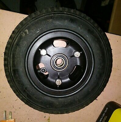 "9x3"" Split Wheel composite 2.80/2.50-4 Tire w/ bearings Wheelchair, cart, dolly"