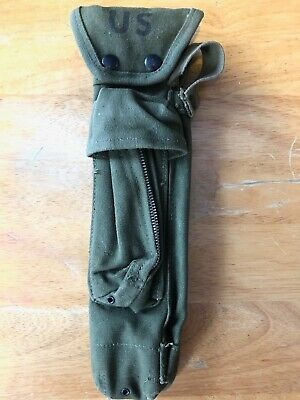 GENUINE US Military Issue BIPOD CASE XM3 CARRYING POUCH USGI CANVAS