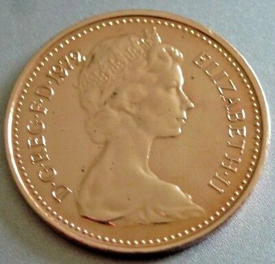 Mega Rare 1972 1/2p Proof Coin 1/2p Not released. Low Mintage.(CG8)