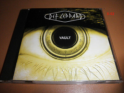 DEF LEPPARD hits VAULT cd PHOTOGRAPH love bites POUR SUGAR hysteria ROCK OF AGES