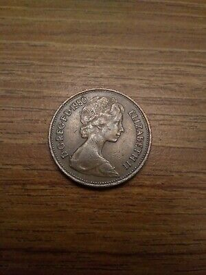 2p new pence coin 1980 - Collectable two pence pre 1983 coin