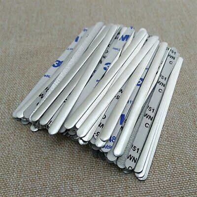 1000 × Aluminum Nose Bridge Strip Face Shield DIY Making Accessorie Craft Making
