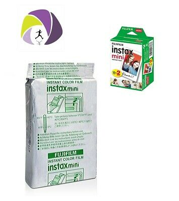 *CHEAPEST* Fuji Instax Mini film 1 pack (Bulk Discount available!) AU/NZ only
