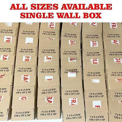 Single Wall Large Postal Mailing Hoouse Removal Cardboard Boxes Multilisting