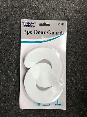 2 Foam Door Guard Finger Protector Jammer Stopper Baby Child Kids Safety Guards