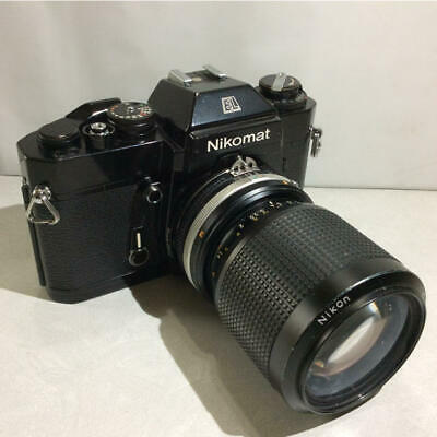 Nikon Film Camera Nikomat EL/Ai-s Zoom Nikkor35-105mm Limited JAPAN